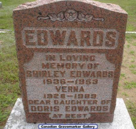 Edwards headstone